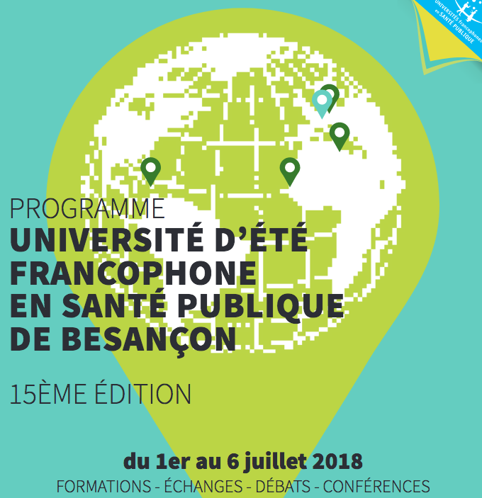 Université d'été de santé publique de Besançon :  module parcours éducatif de santé