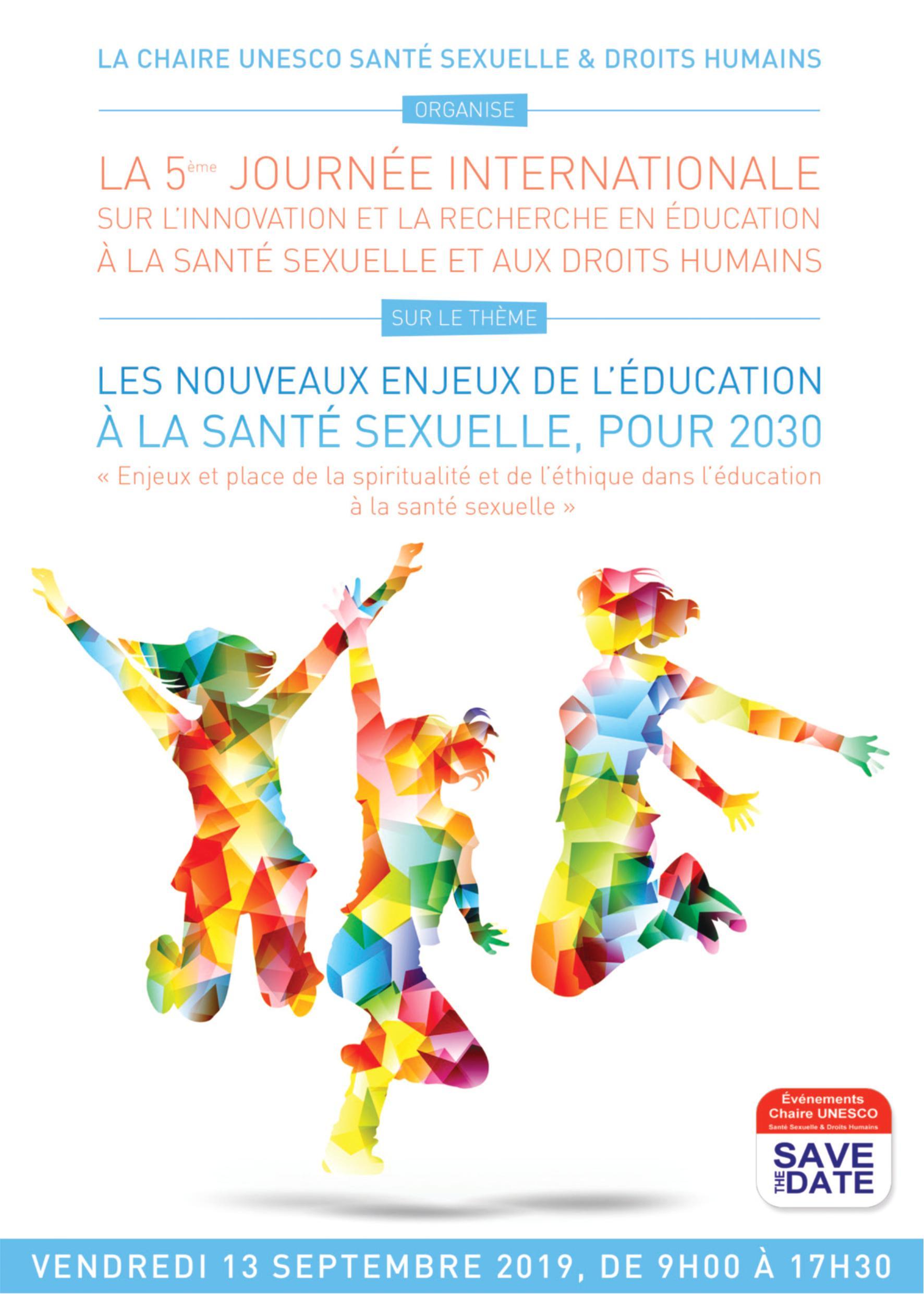 Journée internationale Chaire UNESCO Santé Sexuelle & Droits humains 2019