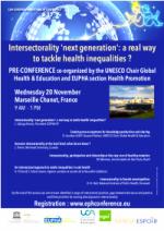 L'intersectorialité « next generation » : un moyen efficace de s'attaquer aux inégalités de santé ?