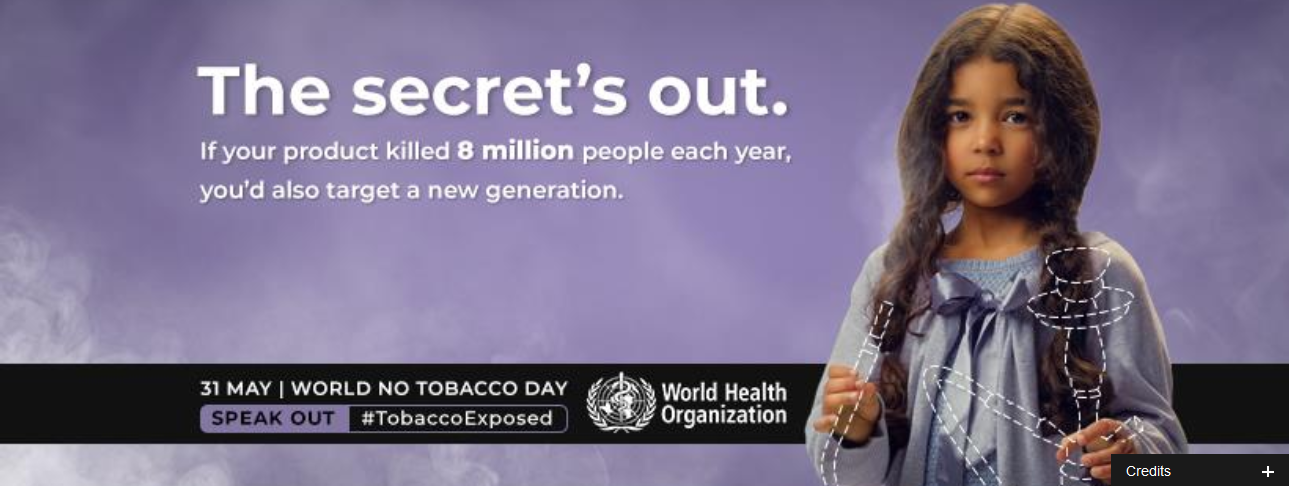 Stop tobacco industry exploitation of children and young people