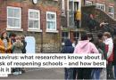 Coronavirus : ce que nous savons sur les risques de la réouverture des écoles – et comment les limiter au mieux