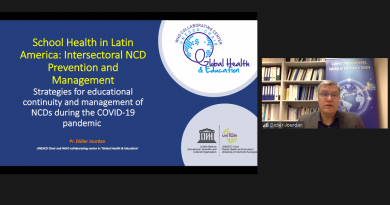 Recording of regional workshop 'School Health in Latin America: Intersectoral NCD Prevention and Management'