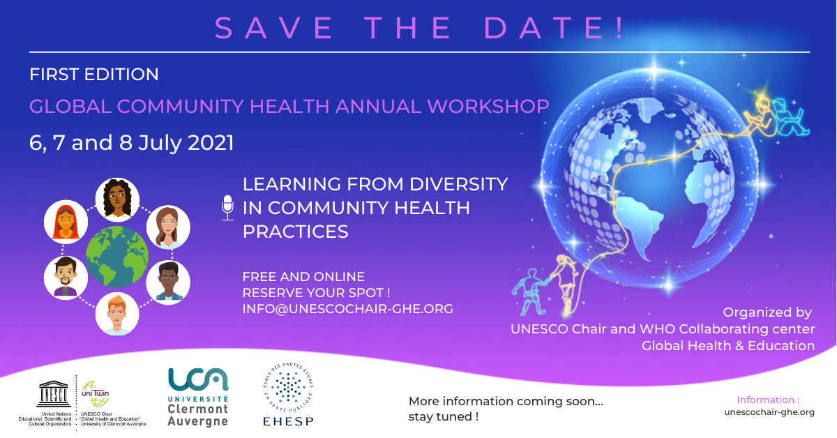 Global Community Health Annual Workshop – First edition