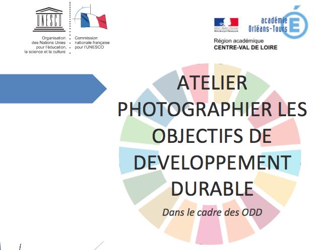 """""""Photographier les Objectifs de développement durable"""" – Un très beau livret mis en ligne par la CNFU"""