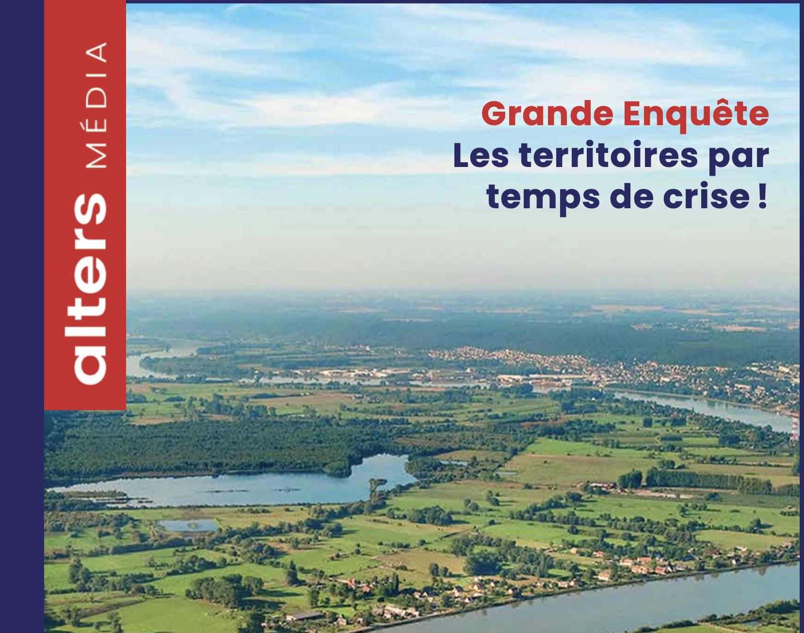 L'impact de la crise sur les territoires – un dossier complet dans la revue Alters Media