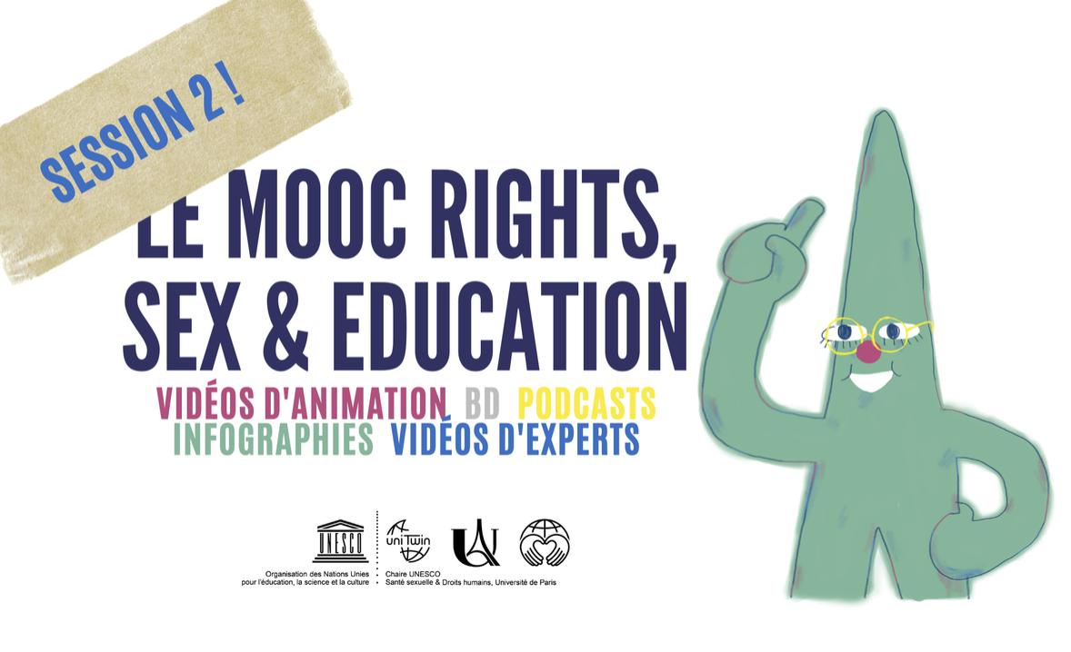 MOOC Rights, Sex and Education: 2e session ouverte le 28 juin !