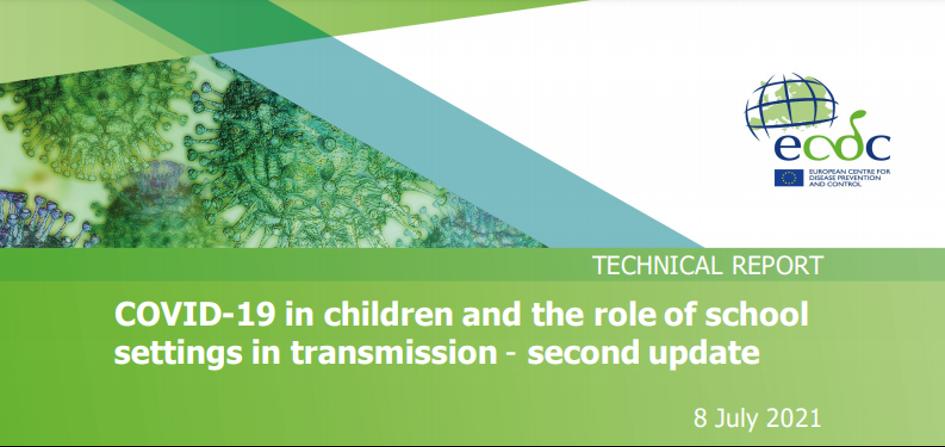 La COVID-19 chez les enfants et le rôle des établissements scolaires dans la transmission – deuxième mise à jour
