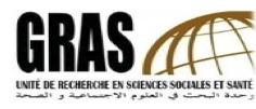 L'Unité de recherche en sciences sociales et santé (GRAS – Université Oran 2) publie son programme de formation