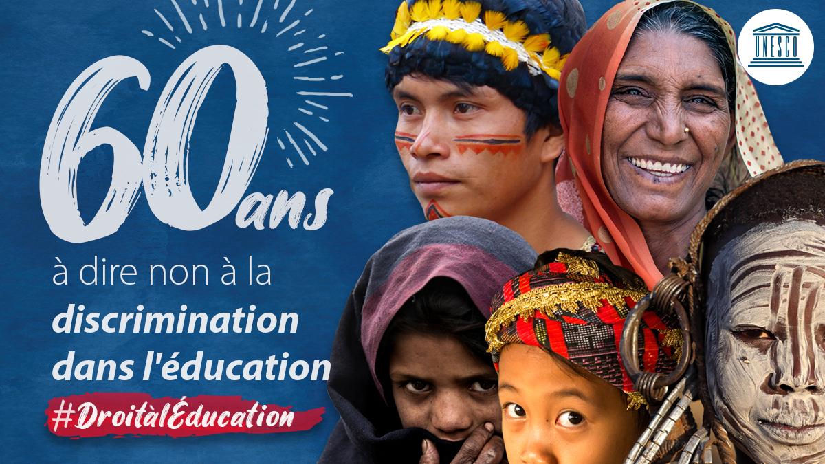 Dire non à la discrimination dans l'éducation – Campagne de l'UNESCO #DroitàlÉducation