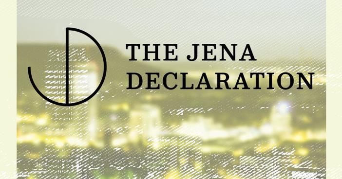 La Chaire UNESCO soutient la Déclaration d'Iéna